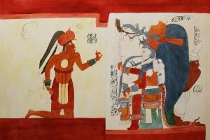 full sice maya-mural-king